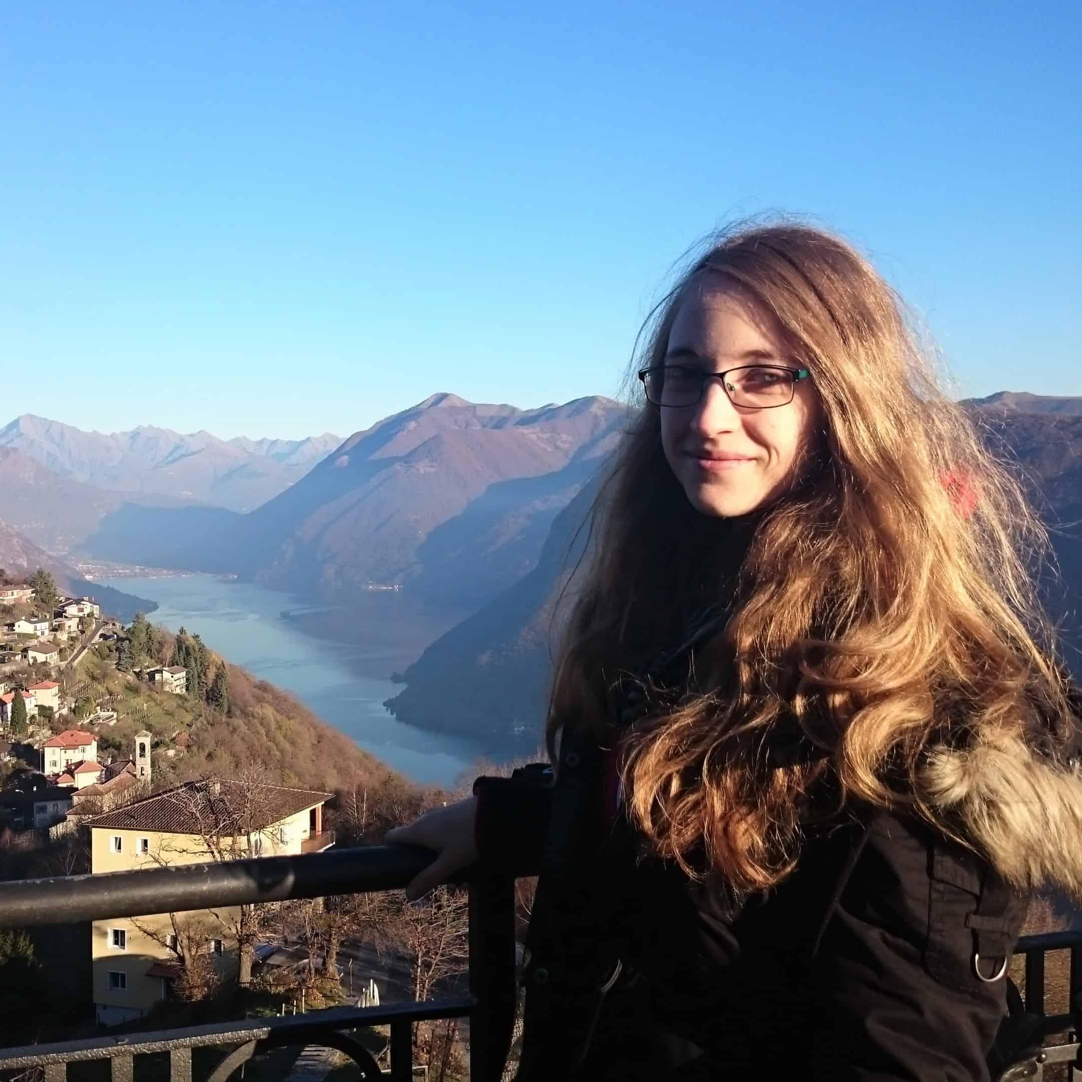 Ex-Studentin in Lugano