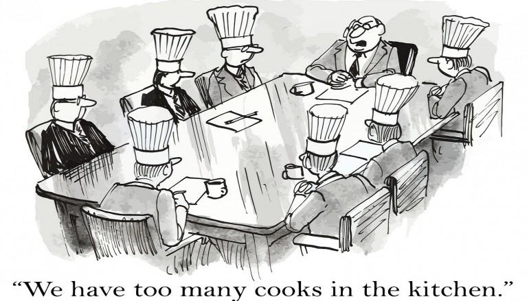 Bildergebnis für zu viele köche