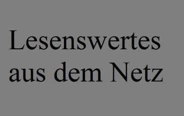 """""""Muster, ich sehe Muster"""" und """"Netz fragt Merkel"""""""