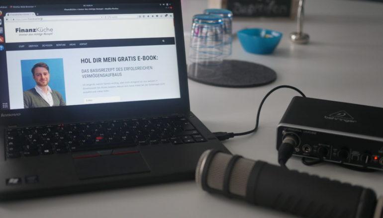 Podcast-Auftakt: Entwicklung Finanzküche 2017, Selbständigkeit und Vaterfreuden