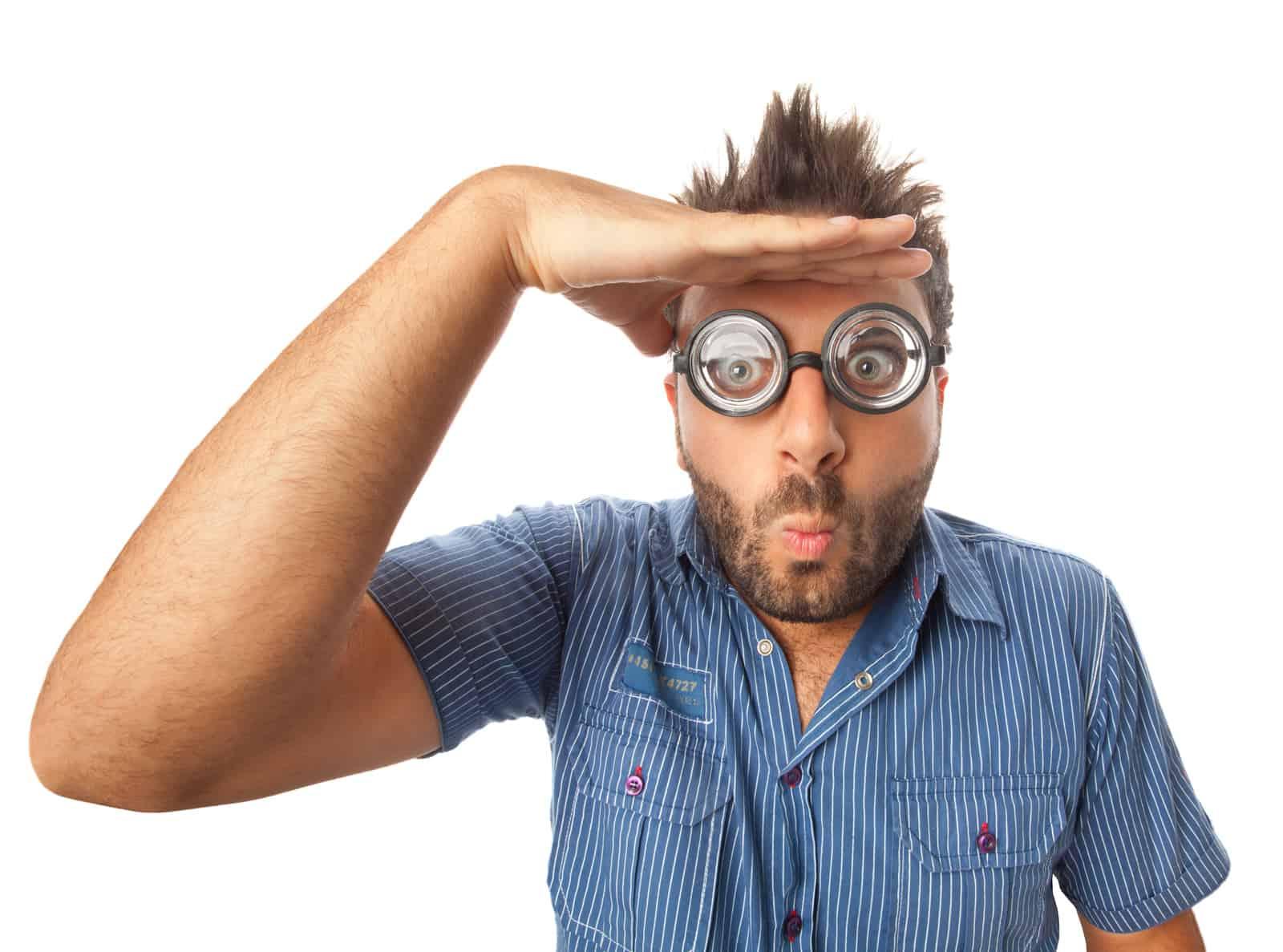 Riester-Rente: Mann sucht das Offensichtliche